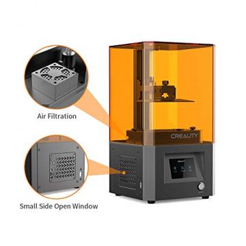 Creality LD002R Resin 3D-Drucker - mit Luftfiltersystem und 3,5 Zoll Smart Touchscreen (119x65x160mm Druckgröße) ✪