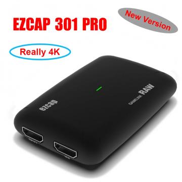 EZCAP321 GameLink RAW 4K 30FPS (2160P) / 1440P in 60FPS & 1080P in 120FPS [HDMI zu USB 3.0] ✪