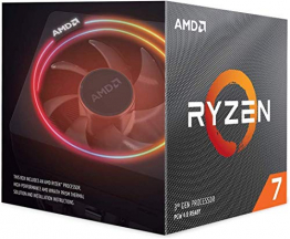 AMD Ryzen 7 3700X Prozessor, 4GHz AM4 36MB Cache Wraith Prism 8 Kerne 16 Threads ✪