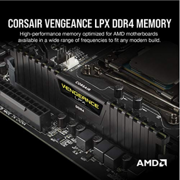 Corsair Vengeance LPX 16GB (2x8GB) DDR4 3200MHz C16 XMP 2,0 High Performance Desktop Arbeitsspeicher Kit ✪