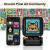 Divoom Ditoo Multifunctional Pixel Art LED Bluetooth Lautsprecher, 256 Programmierbares LED Panel mit Party Licht, Smart Digital Tischuhr, Gaming Musikbox unterstützt TF Karte & Radio (schwarz) ✪