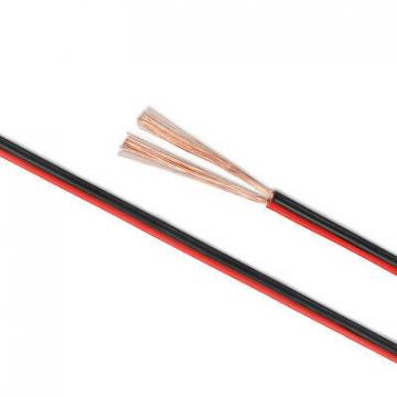Lautsprecherkabel Zwillingslitze 2x1,5mm² Boxenkabel 10 m rot/schwarz ✪