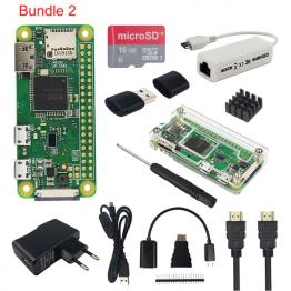 Raspberry Pi Zero W Starter Kit mit Adaptern ✪