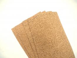 Korkplatten 5 Stück - 4 mm Dick (30 cm x 20 cm) ✪