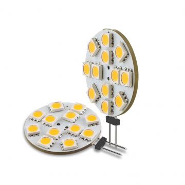 G4 LED Lampe ersetzt 12 x 5050 SMD LED 12V DC ✪