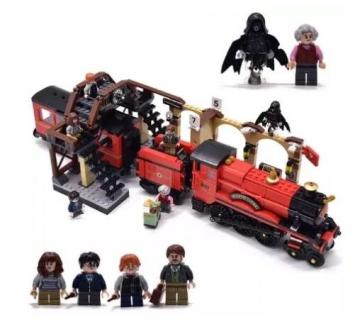 Justice Magieian Hogwards Express - Klemmbaustein Set (832 Teile) ✪