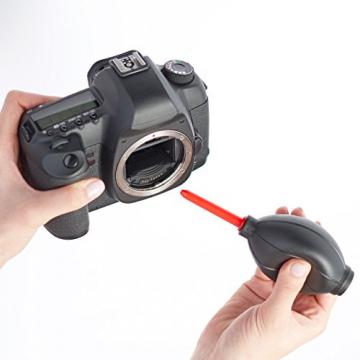 Amazon Basics - Reinigungsset für DSLR-Kameras und empfindliche elektronische Geräte wie Co2 Laser ✪