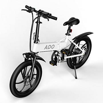 ADO A20 eBike - 20 Zoll Elektrofahrrad,7-Gang-Getriebe 36V 350 Watt Brushless Motor (25-35 km/h) ✪