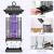 Elektrische Insektenfalle - Mückenlampe 4000V mit UV-Licht Wirksam zum Reduzieren Fliegender Insekten ✪