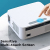 BOMAKER Cinema 500 MAX Beamer - 2.4G & 5G WiFi / Bluetooth 5.0 / Native 1080P / 4P-Trapezkorrektur ✪