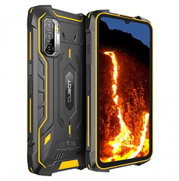 CUBOT Kingkong 5 Pro Outdoor Smartphone ohne Vertrag, Android 11, 6,08 Zoll HD Günstig Robustes, 4GB+64GB/256GB Erweiterbar, 8000mAh Akku Dual SIM Handy, IP68 Wasserdicht Stoßfest NFC/Face ID/OTG/GPS ✪