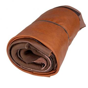 Langlauf Schuhbedarf ® Lederstücke mittel 1kg braun - alle Stücke Mind. DIN A4 ✪