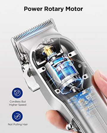Limural Schnurlose Profi Haarschneidemaschine - Bartschneider Wiederaufladbar mit LED-Anzeige ✪