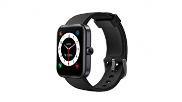 CUBOT ID206 Smartwatch, Fitness Armbanduhr mit 1.69 Zoll Touchscreen, Alexa integriert ✪