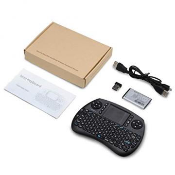 Wireless Mini Tastatur mit Touchpad für Raspberry Pi mit Akku ✪