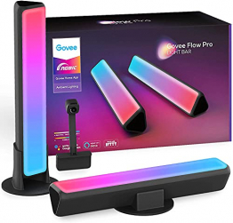 "Govee Smart LED Lightbar, WiFi RGBIC LED TV Hintergrundbeleuchtung mit Kamera für ""Ambilight"" feeling ✪"