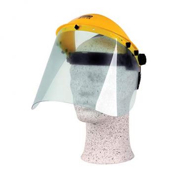 Gesichtsschutz mit Polycarbonatvisier ✪